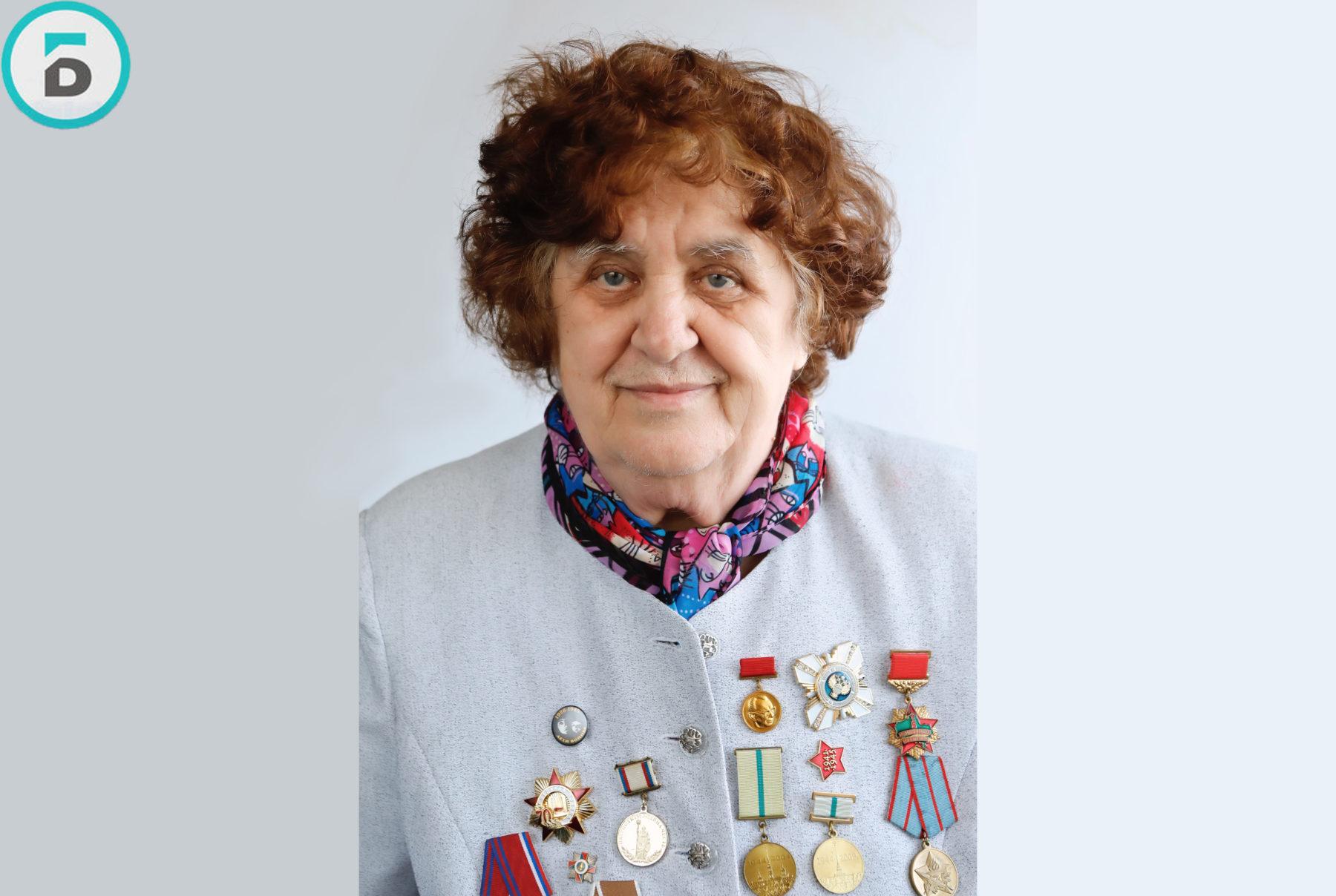 Блокадница Галина Клюкина отметила 82-летие в Балашихе