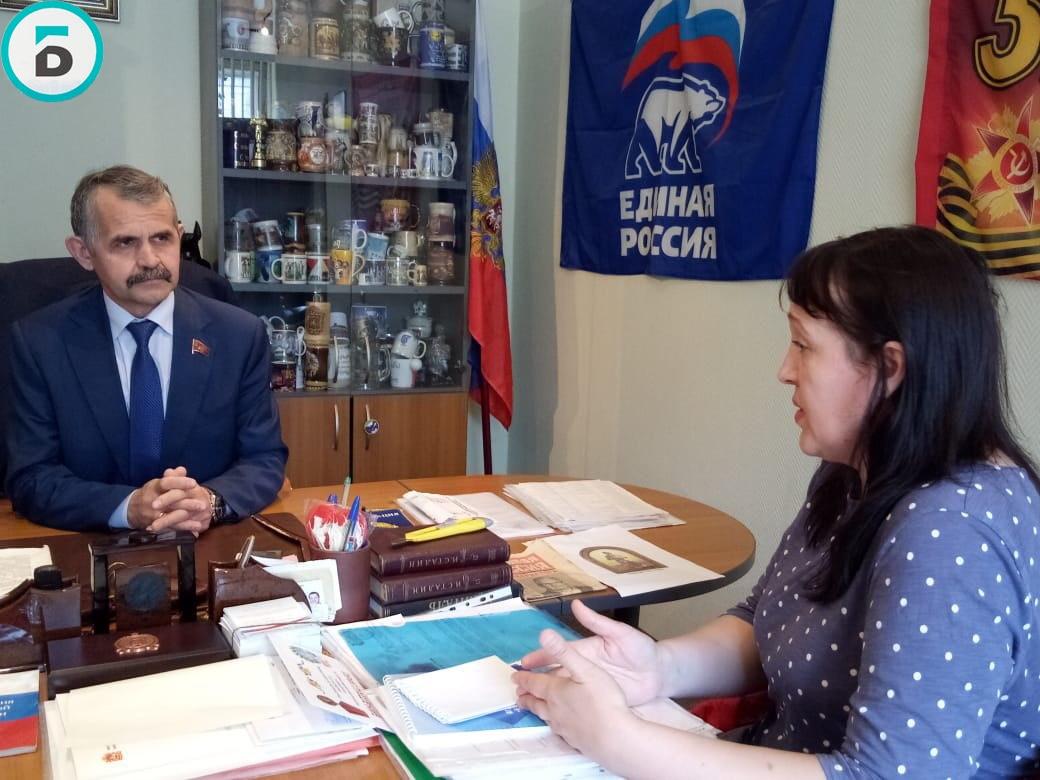 Депутат Мособлдумы Владимир Шапкин провёл личный приём жителей в микрорайоне Гагарина в Балашихе