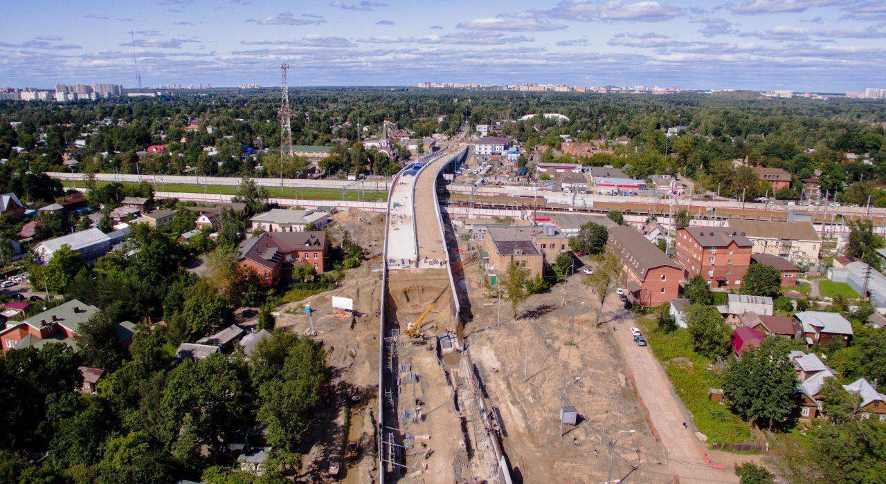 Движение по Салтыковскому путепроводу в Балашихе откроют в октябре 2019 года