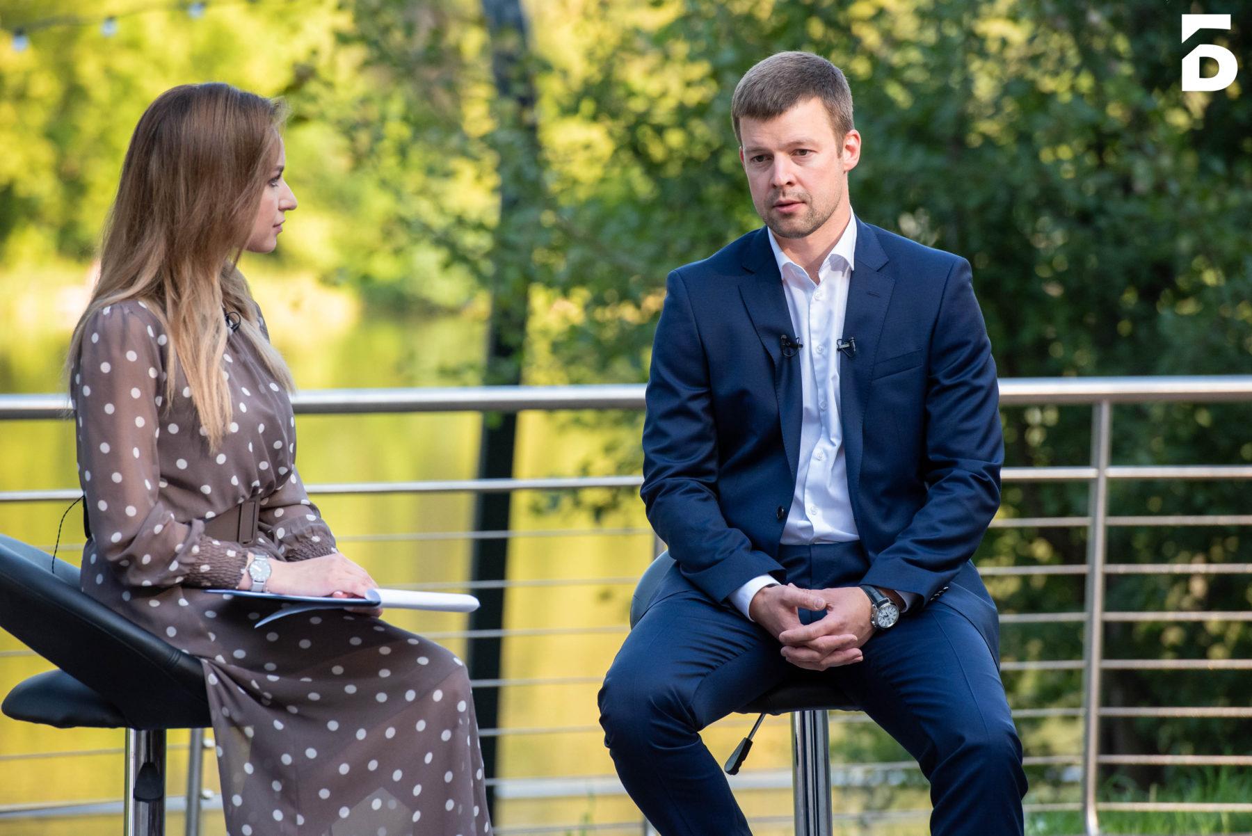 Сергей Юров ответил на вопросы жителей Балашихи в парке «Пехорка»