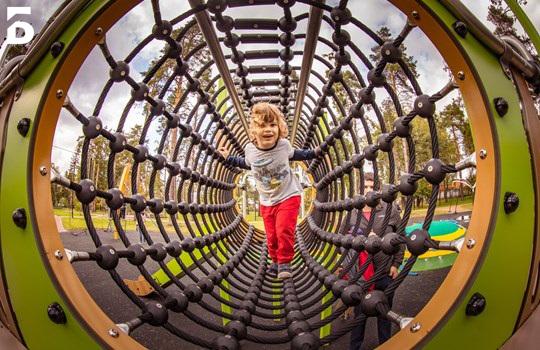 Три детские площадки откроют в парках в Балашихе