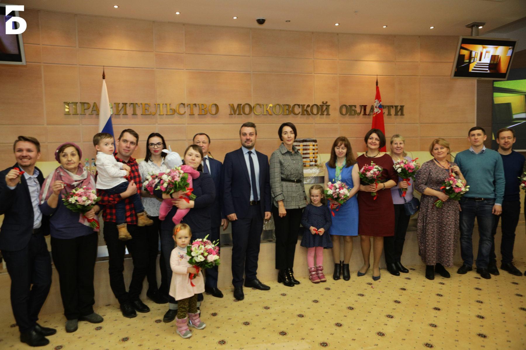 Первые ключи от квартир получили дольщики ЖК «Квартал Европа» в Балашихе