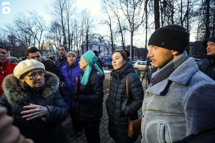 Капитальный ремонт дома на Парковой улице обсудили с представителями администрации Балашихи
