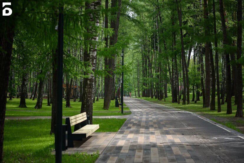 Парки Балашихи открылись для прогулок и занятий спортом