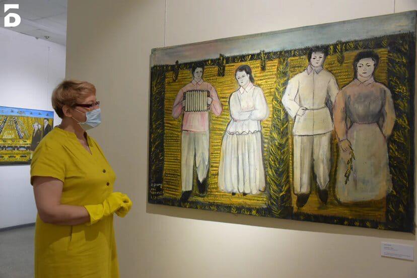 Выставка картин Павла Леонова открылась в Балашихинской галерее