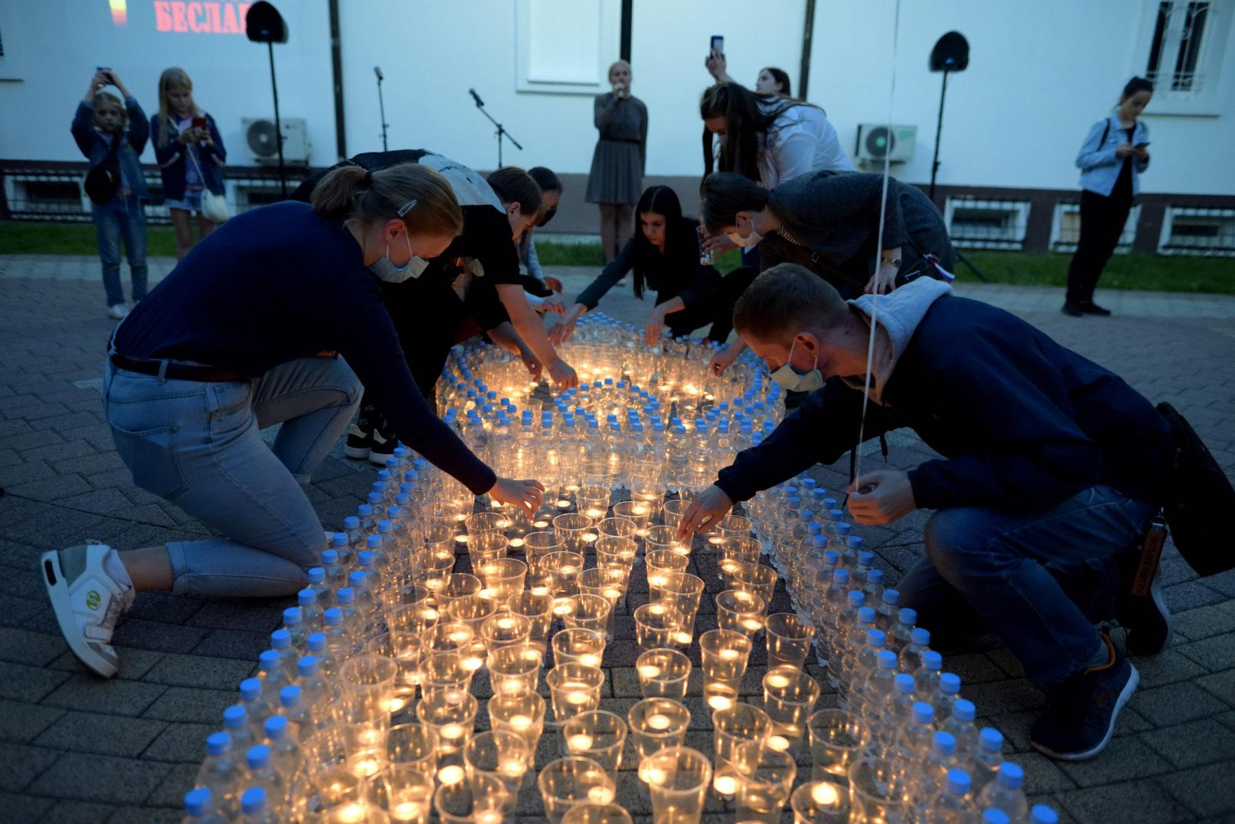 Память жертв бесланского теракта почтили в Балашихе