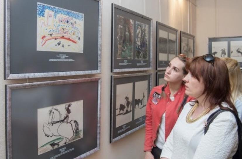 Работы испанских художников Франсиско Гойи и Пабло Пикассо покажут в Балашихе