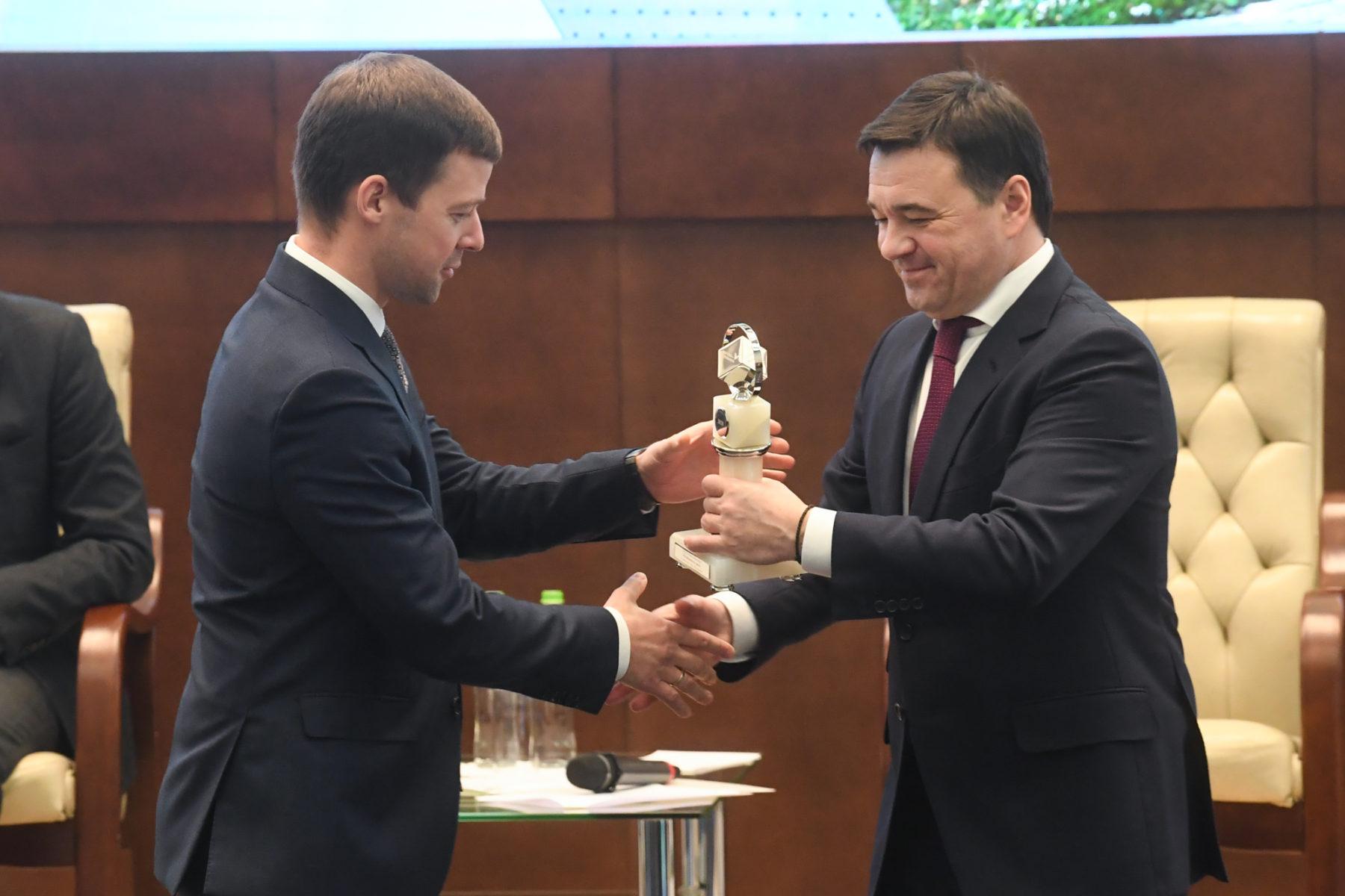 Балашиха получила премию губернатора «Прорыв года» в номинации «Комфортный город»