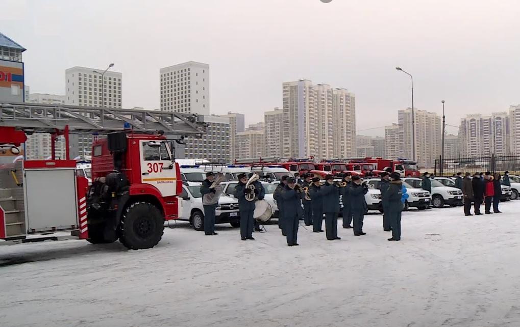 Аварийно-спасательную технику получили пожарные Балашихи