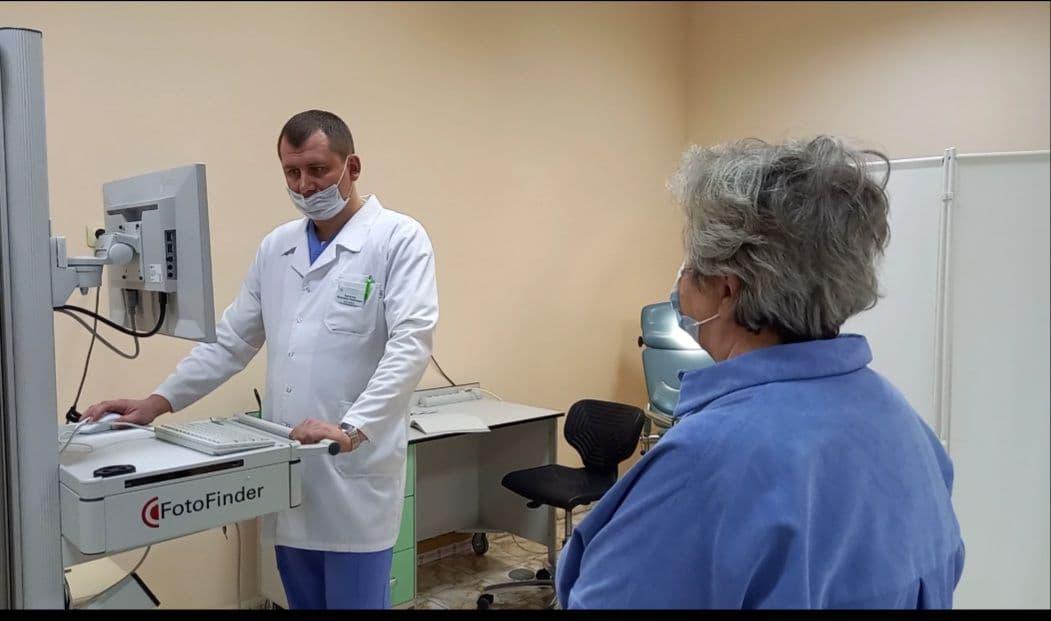 Цифровой дерматоскоп применяют специалисты областного онкодиспансера в Балашихе