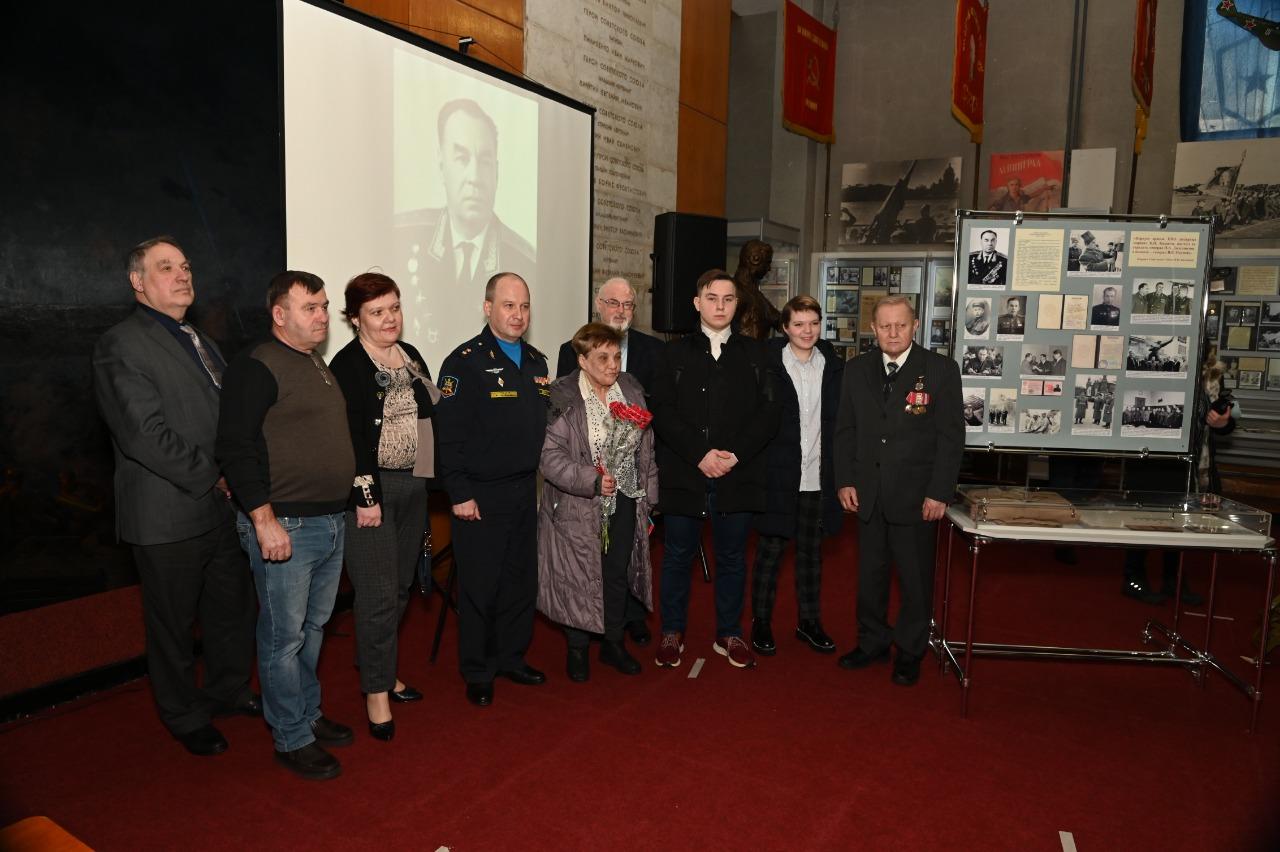 Столетие генерал-полковника Василия Окунева почтили в Балашихе