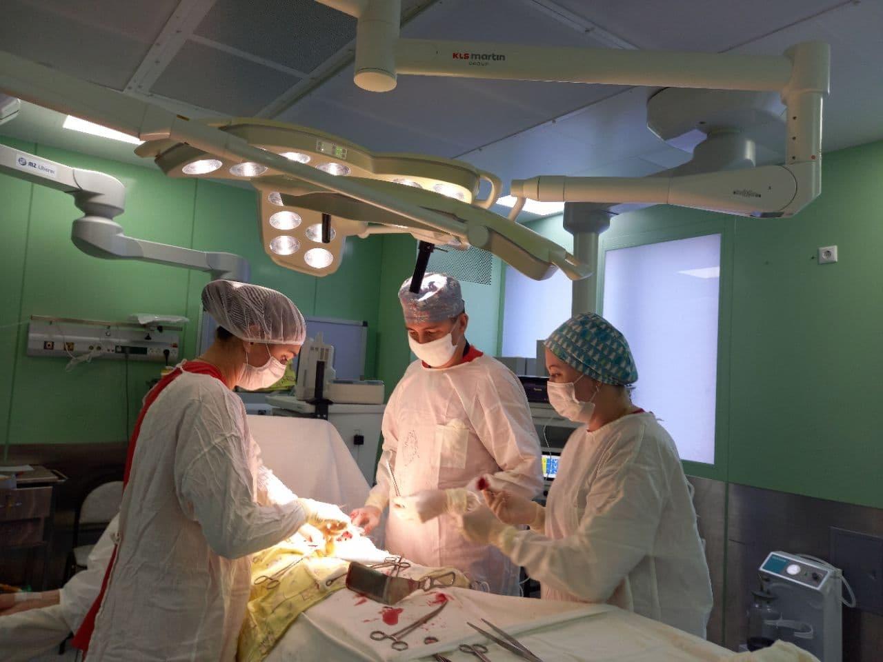 450 лапароскопических операций по лечению рака эндометрия провели в онкодиспансере в Балашихе в 2020 году