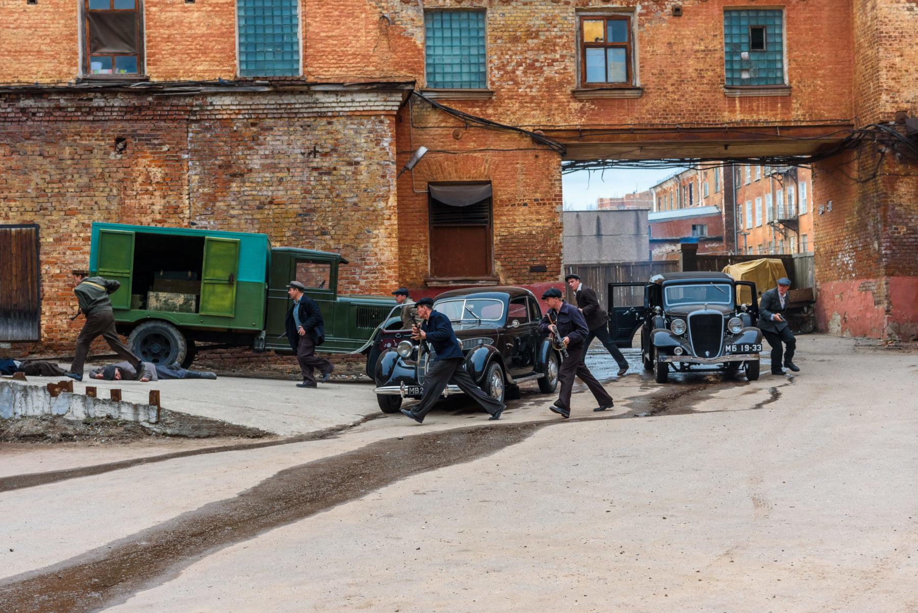 Съёмки детективного сериала «Художник» прошли на фабрике в Балашихе