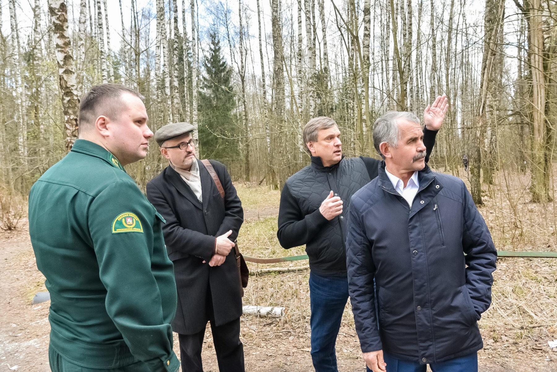 Владимир Шапкин поддержал предложение о приведении в порядок Озёрного лесопарка Балашихи