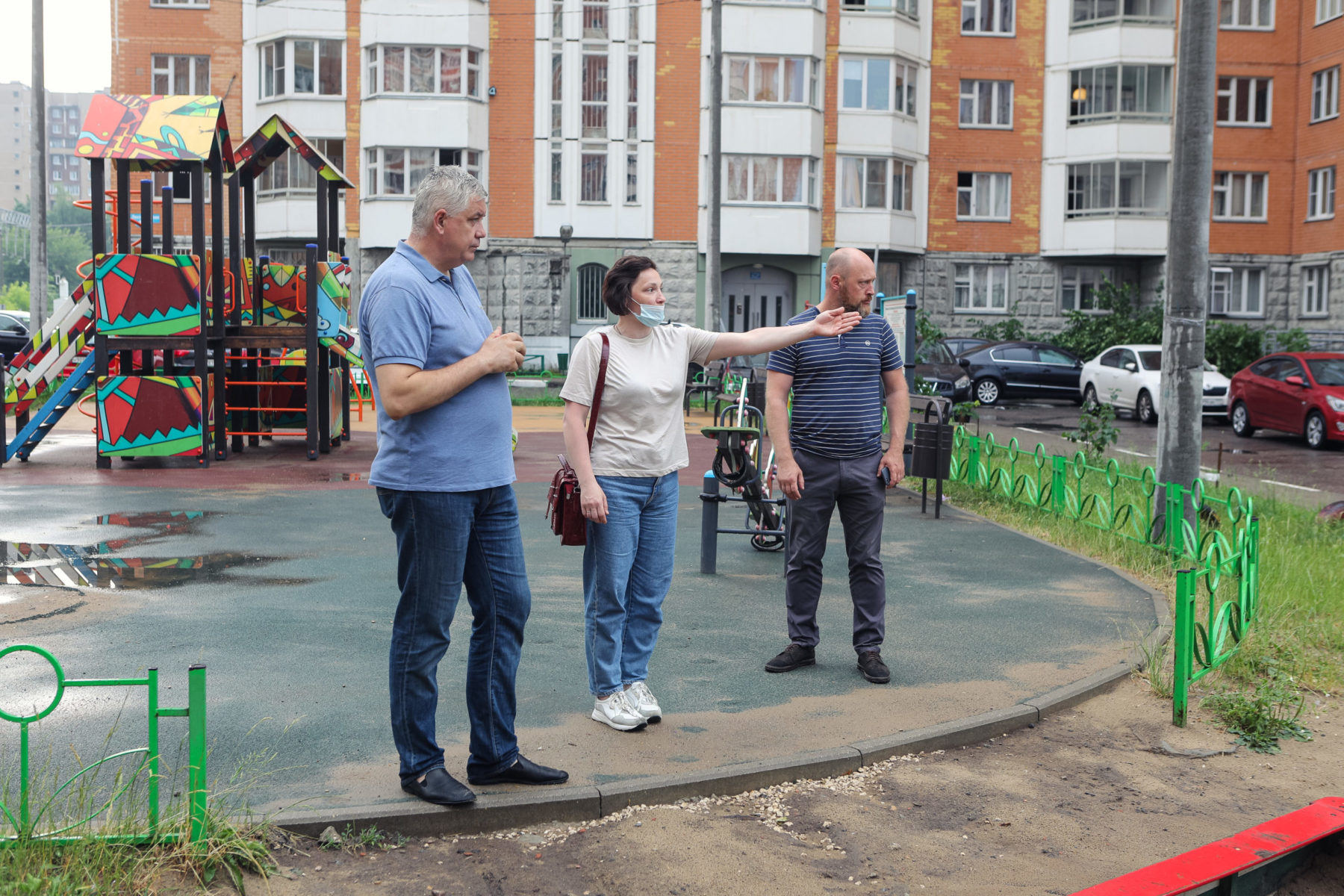 Тарас Ефимов поддержал инициативу жителей Балашихи по благоустройству Лесопарковой улицы