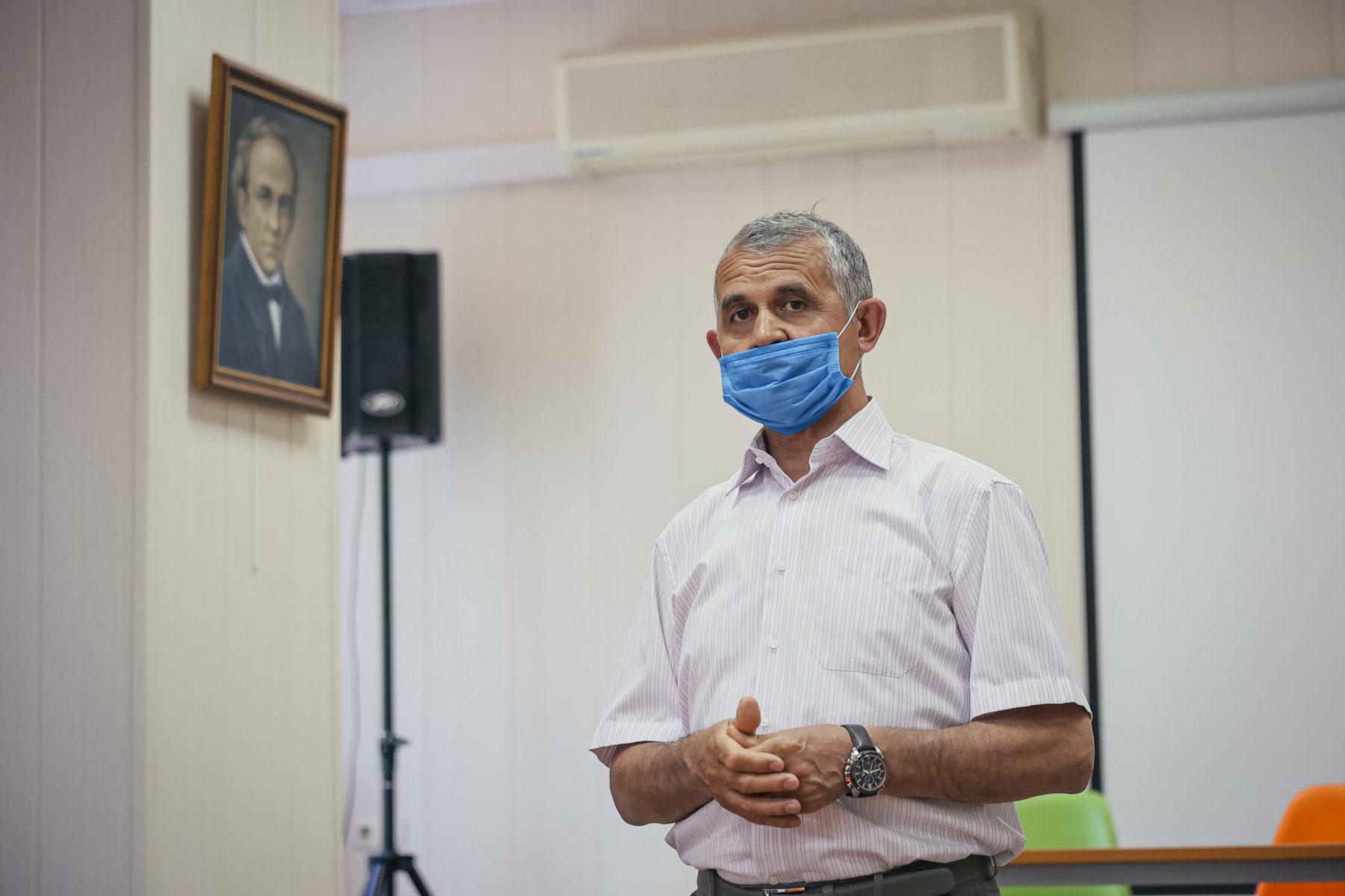 Владимир Шапкин выступил в Балашихе с отчетом о реализации партийных проектов за 5 лет